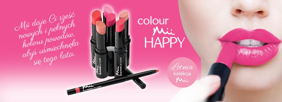 Colour Mii Happy - LATO 2015